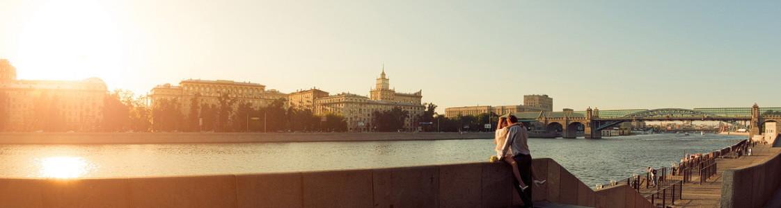 Сергей и Ольга. Городская серия.