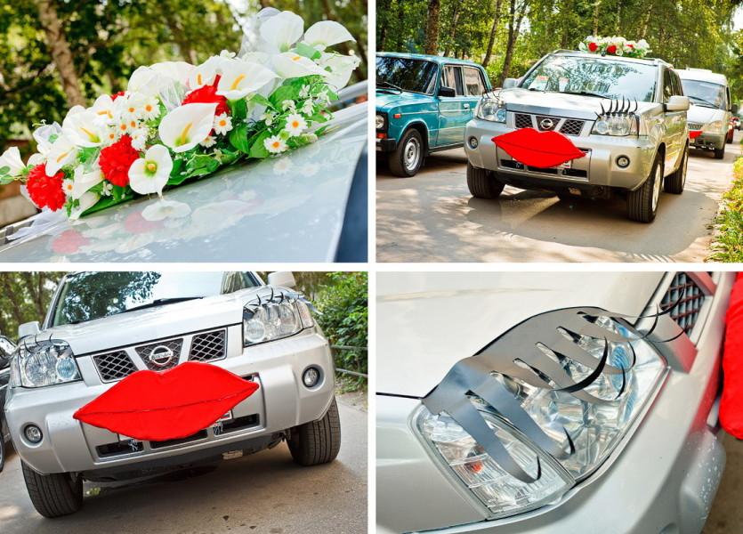Машинка-девочка для невесты