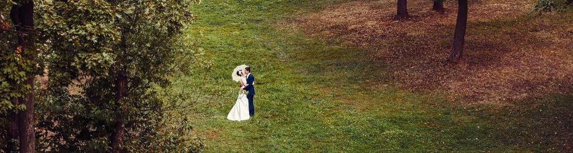 Антон и Алла. Свадебная фотосессия в Царицыно.