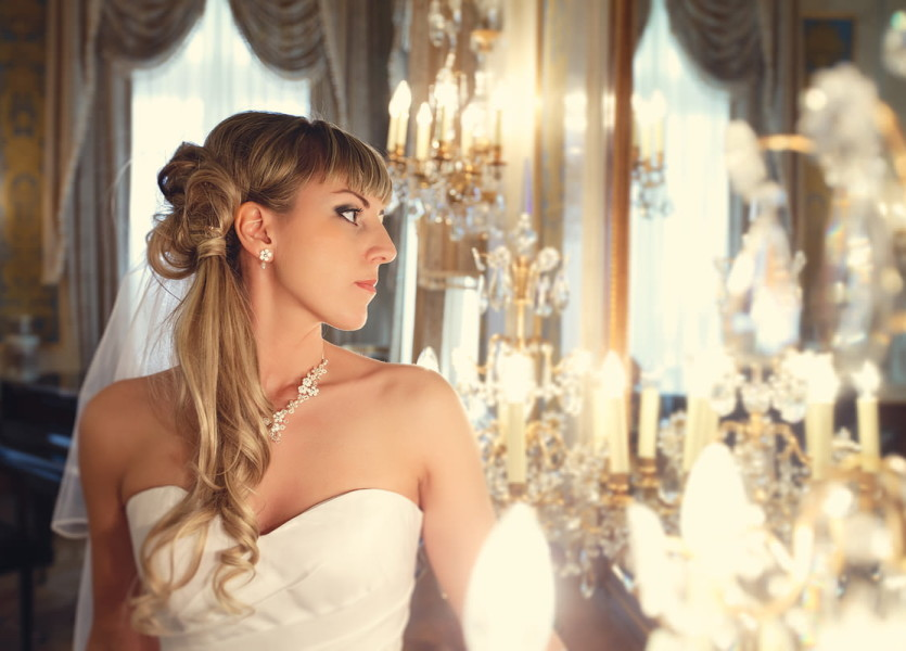 Портфолио. Свадебный портрет.