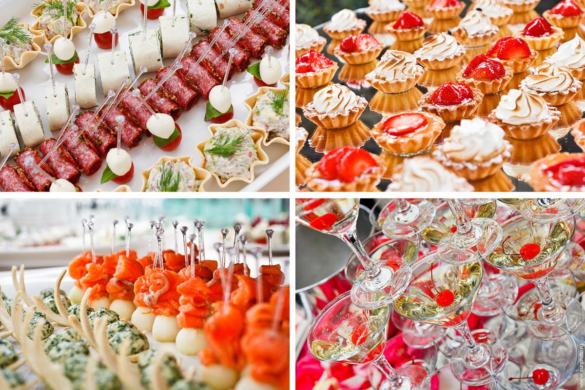 Картинки закусок на свадьбу