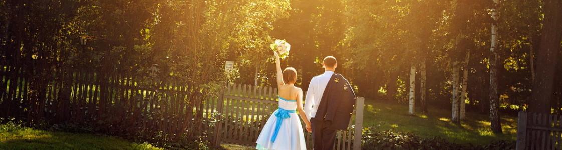 Руслан и Нина. Маленькая свадьба в будний день.