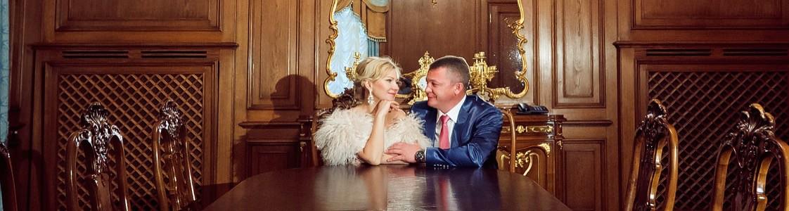Михаил и Наталья. Красивая осенняя свадьба в Морозовке.