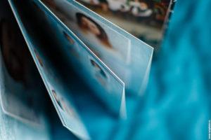 Страницы фотокниги на выпускной для девятиклассников