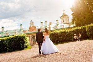 Антон и Анна. Летняя свадьба в Москве.